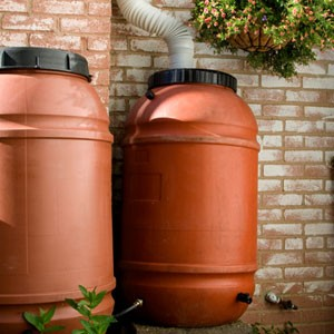 Rain Barrels With the right setup, you can not only protect your home from rain, but you can utilize this runoff and use it to water your garden or other important purposes. Here at D